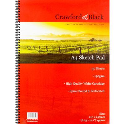 Crawford And Black A4 Sketchbook image number 1