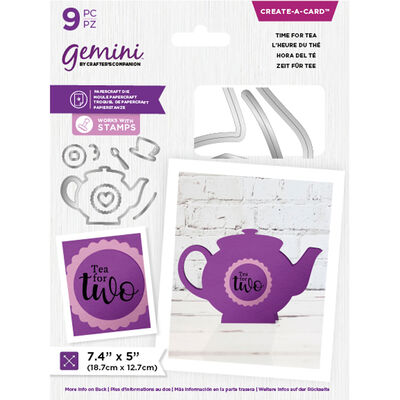 Gemini Create a Card - Time for Tea Collection image number 3