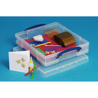 Really Useful 7 Litre Clear Plastic Storage Box