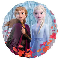 18 Inch Disney Frozen 2 Circle Helium Balloons