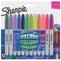 Sharpie Cosmic Colours Permanent Markers: Pack of 12