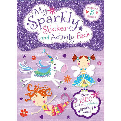My Sparkly Sticker and Activity Pack image number 1