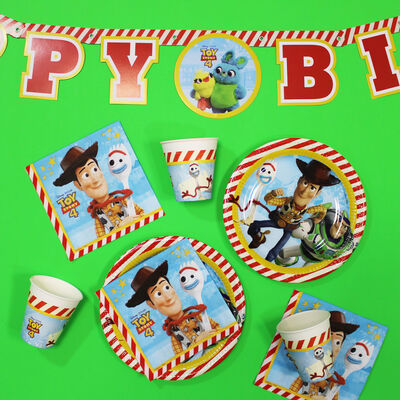 Toy Story Happy Birthday Letter Banner image number 3