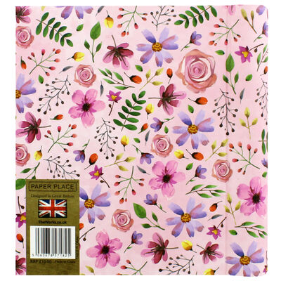 Pink Floral Telephone And Address Book image number 3