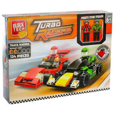Block Tech Turbo Racers Set image number 1