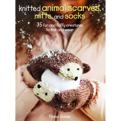 Knitted Animal Scarves Mitts and Socks image number 1