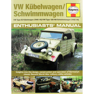 Haynes VW Kubelwagen - Schwimmwagen Enthusiasts' Manual image number 1