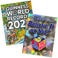 Guinness World Records 2022 & Ripley's Believe It or Not! 2022 Book Bundle