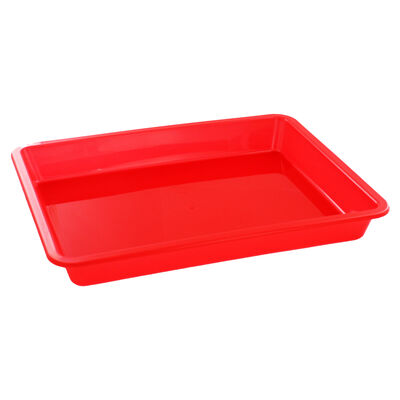 Coloured Plastic Craft Trays - 3 Pack image number 3