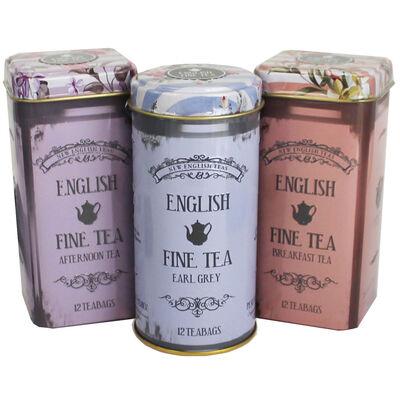 English Fine Tea Teabag Selection - Set of 3 image number 1