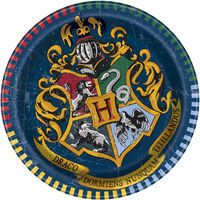 Harry Potter Small Paper Plates - 8 Pack