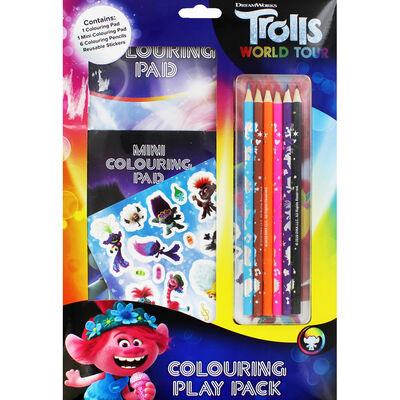 Trolls Colouring Play Pack image number 1