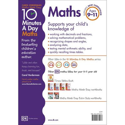 10 Minutes a Day Maths: Ages 9-11 image number 3