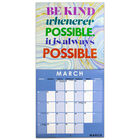 Be Kind 2022 Square Calendar and Diary Set image number 2