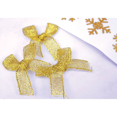 Twilight Wishes Gold Mini Bows - 16 Pack image number 3