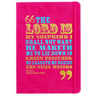 A5 Case Bound PU The Lord is my Shepherd Notebook image number 1