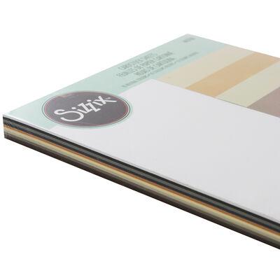 Sizzix 60pk cardstock neutrals image number 2