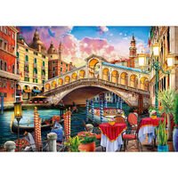Venice Bridge 1000 Piece Jigsaw Puzzle