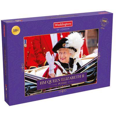 HM Queen Elizabeth II 1000 Piece Jigsaw Puzzle image number 1
