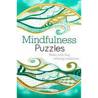 Mindfulness Puzzles: Teal Book Collection