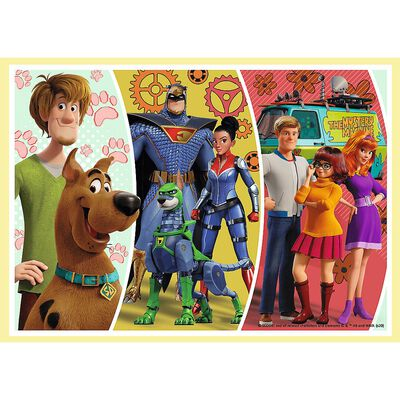 Scooby Doo 4-in-1 Jigsaw Puzzle Set image number 5