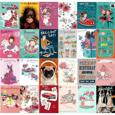 Box Of 576 Assorted Greeting Cards - 12x48 Designs image number 2