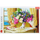 Flowers in the Morning 1000 Piece Jigsaw Puzzle image number 2
