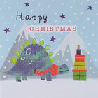 Dinosaur Christmas Cards: Pack Of 20 image number 3