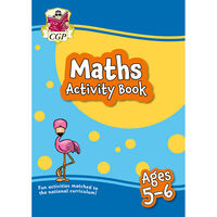 Maths Activity Book: Ages 5-6