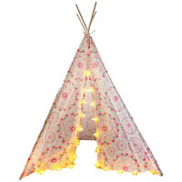 Teepee Tent: Star String Lights