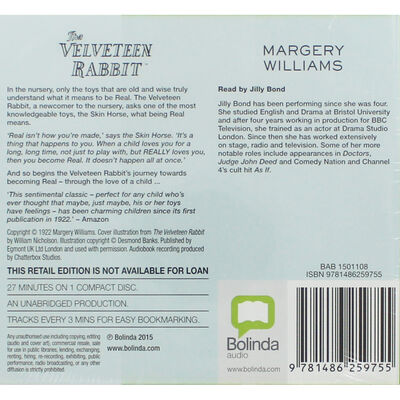 The Velveteen Rabbit: CD image number 2