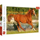 The Beauty Of Gallop 500 Piece Jigsaw Puzzle image number 1