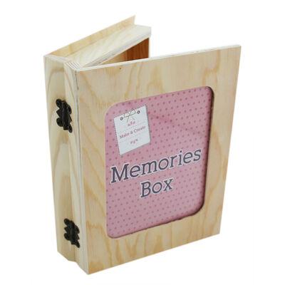 Wooden Memories Box image number 1