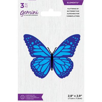Gemini Mini Elements Die - Fluttering By image number 1