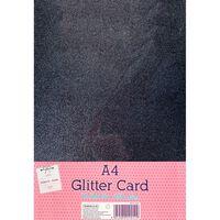 A4 Night Sky Glitter Card: Pack of 10
