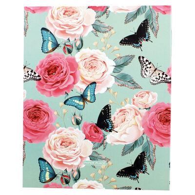 Floral Slip-In Photo Album image number 3