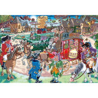 Wasgij Destiny 21 Highway Hold Up 1000 Piece Jigsaw Puzzle