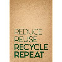 A4 Flexi Notebook: 100% Recycled Paper