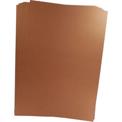 Centura Metallic A4 Rose Gold Card - 10 Sheet Pack image number 2