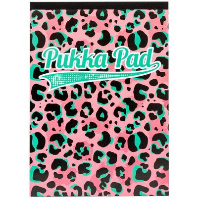 A4 Refill Pukka Pad Pink Leopard image number 1