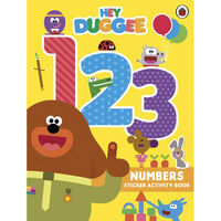 Hey Duggee 123: Sticker And Activity Book