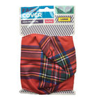 Red Tartan Reusable Face Covering image number 1