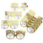 Gold Hen Do Party Glasses - 9 Pack image number 3