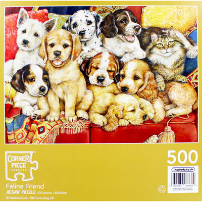 JCP 500pc Feline Friends image number 4