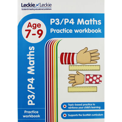 P3-P4 Maths Age 7-9 Practice Workbook image number 1