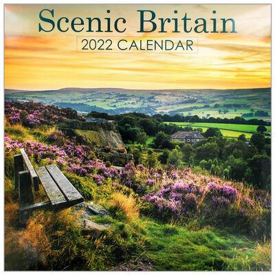 Scenic Britain 2022 Square Calendar image number 1