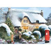 Thatched Cottage 500 Piece Jigsaw Puzzle