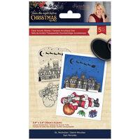 Sara Signature Acrylic Stamp: Twas the Night Before Christmas: St Nicholas