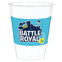 Battle Royal Plastic Cups: Pack of 8