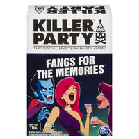 Killer Party Fangs for the Memories Game